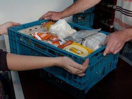 Inzamelingsactie voor de voedselbank week 49