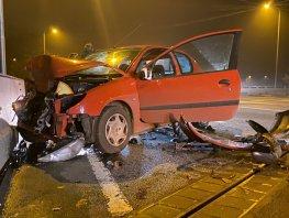 Ongeval met drie auto's op de N302 in Harderwijk