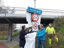 Eerste rijstvliesborden in gemeente Harderwijk