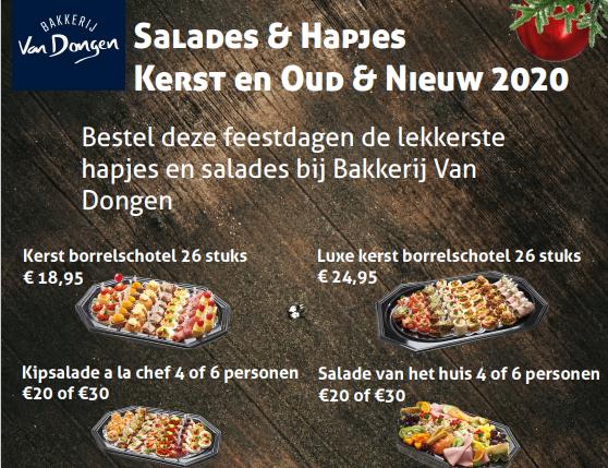 Salades en hapjes voor Kerst en Oud & Nieuw!