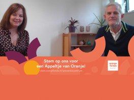 Het Suïcide Preventie Centrum Noord Veluwe maakt kans op Appeltje van Oranje 2021