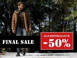 Op alle wintercollectie 50% korting bij Germano Menswear