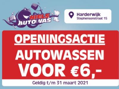 Openingactie Niels Autowas Harderwijk