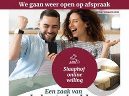 Ook Slaaphof Harderwijk gaat woensdag 3 maart weer open op afspraak!