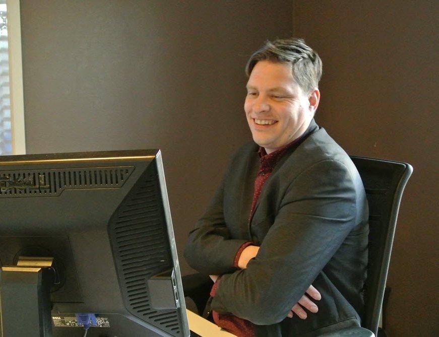 Ronnie Regeling 20 jaar werkzaam bij VVV Ermelo Buitenleven!