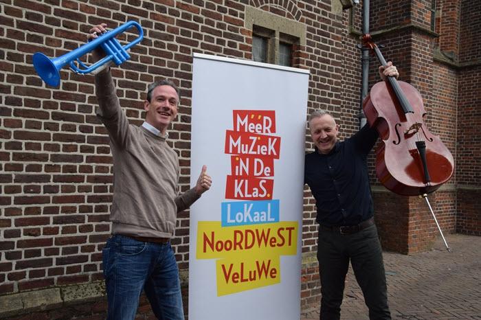 Samenwerking op Noordwest-Veluwe voor meer muziekonderwijs: Muziek maakt kinderen vrolijk én vaardig