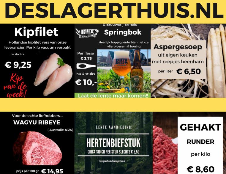 Aanbiedingsfolder deslagerthuis.nl