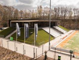 Opening nieuwe accommodatie Sportpark Slingerbos in Harderwijk