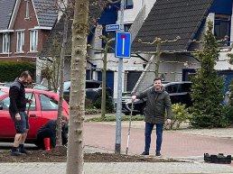Burenactie bewoners Duivenkamp en Kalkoenkamp in Harderwijk