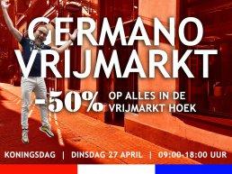 Maak een afspraak bij Germano Vrijmarkt!