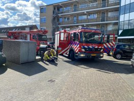 Wasmachine in brand in een woning op de Bokkenkamp in Harderwijk