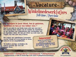 Palingrokerij en Vishandel Dries van den Berg is op zoek naar winkelmedewerkers (full-time)