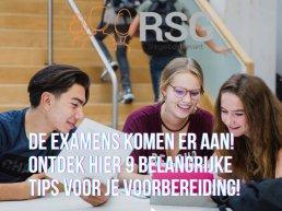 Maandag 17 mei starten de examens!