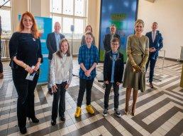 Muziekakkoord Noordwest Veluwe ondertekend, Erevoorzitter Koningin Máxima neemt vlag in ontvangst
