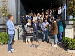Twaalf weken les in de bioscoop van Kok CinemaxX wordt feestelijk afgesloten