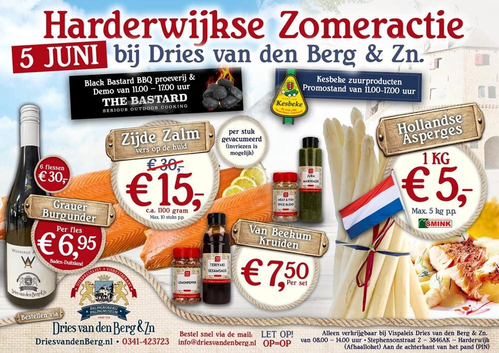 Harderwijkse Zomeractie bij Dries van den Berg & Zn.