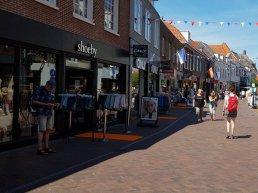 Harderwijkse binnenstad kleurt feestelijk oranje