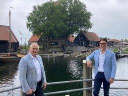 Menno Doppenberg benoemt tot lijsttrekker VVD Harderwijk-Hierden. Bert van Bijsteren draagt stokje over