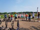Gaaf fietsspektakel op de pumptrackbaan in Harderwijk