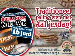 Traditioneel paling eten met Aaltjesdag!