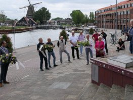Herdenking verdronken Vissers Harderwijk