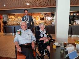 Stinus en Marie Kramer 60 jaar getrouwd