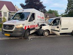 Ongeval tussen twee voertuigen op de Verkeersweg in Harderwijk