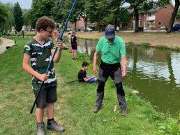 Leerlingen groep 8 van de Willem Alexanderschool krijgen visles