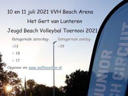 Jeugd Beach Volleybaltoernooi Harderwijk