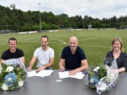 Nieuwe jeugdhoofdsponsoren JO19-1 voetbalvereniging VV Elspeet