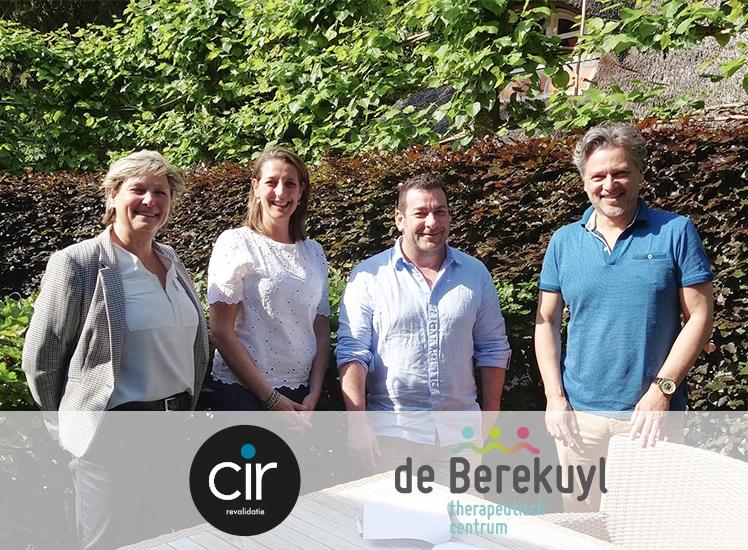 CIR revalidatie gaat de samenwerking aan met Therapeutisch Centrum de Berekuyl door te starten met de pilot MER