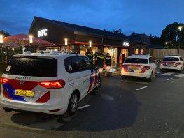 Meerdere politie-eenheden opgeroepen vanwege vervelend gedrag van een groep jongeren