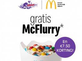 McFlurry Actie bij Niels Autowas Harderwijk