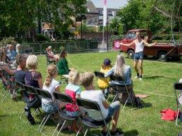 Centrum Harderwijk decor voor zomerprogramma podiumkunsten