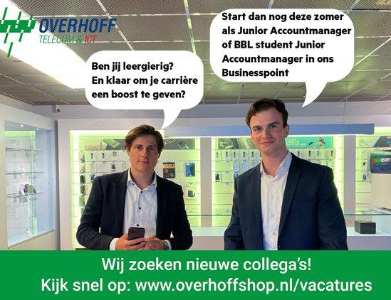Werken bij Overhoff Telecom & ICT Harderwijk