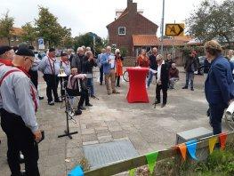 Zeebuurt krijgt gedicht bij en over 'de lopende man' van oud-stadsdichter