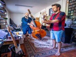 Dieter en Erik van der Westen openen reeks Americana-concerten in Centrum de Zin
