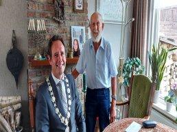Christiaan Glismeijer uit Harderwijk viert 100-ste verjaardag