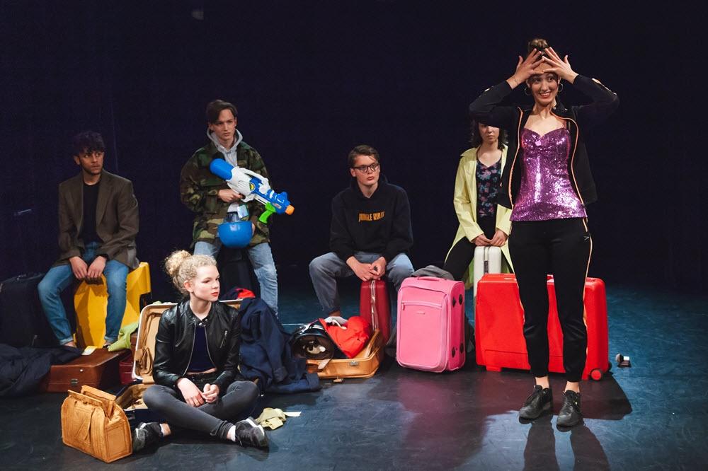 Leren acteren bij Jongerentheaterschool Wolf