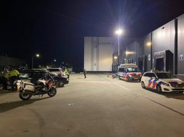 Grote politiecontrole in Harderwijk