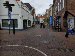 Beweegbare palen in Donkerstraat en Luttekepoortstraat in Harderwijk vervangen