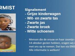 26-jarige vrouw en haar één jarige zoontje uit Harderwijk vermist