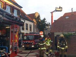 Brand in woning binnenstad Harderwijk