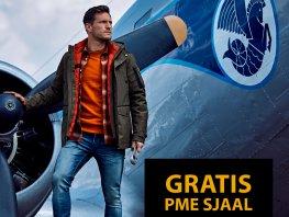 Gratis PME sjaal bij aanschaf van een winterjack vanaf €199,95 bij Germano Menswear