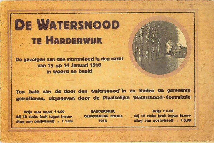 Stadsgedicht - Herinnering aan een watersnood